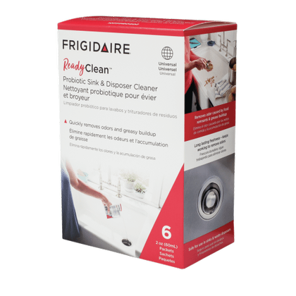 Frigidaire ReadyClean™ Probiotic Sink and Disposer Cleaner 6 pack