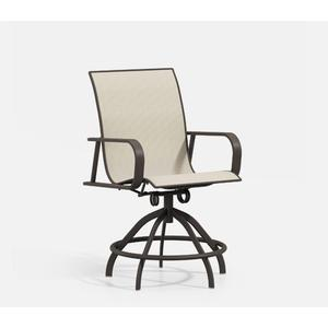 Swivel Rocker Balcony Stool - Sling