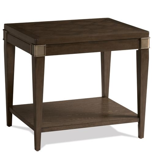 Monterey - Side Table - Mink Finish
