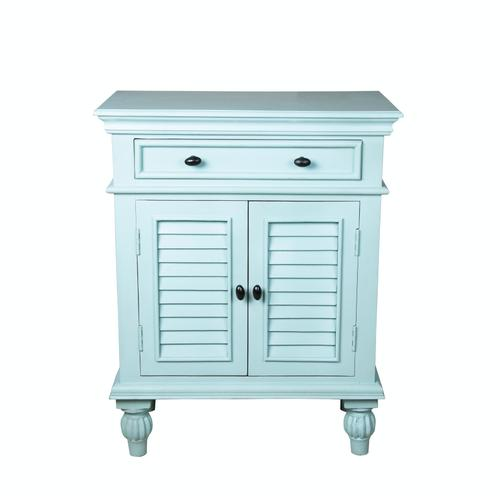 Capris Furniture - Chest available in Teal Finish