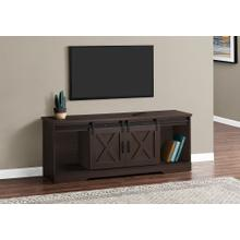 """TV STAND - 60""""L / EXPRESSO WITH 2 SLIDING DOORS"""