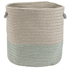 "Sunbrella Coastal Basket AS69 Sea 13"" X 11"""