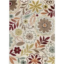 Deco - DCO1008 Ivory Rug (Multiple sizes available)