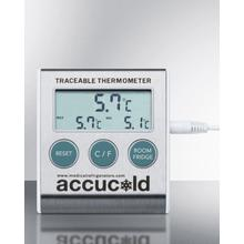 See Details - Traceable Thermometer With Nist Calibrated Temperature Readout To the Nearest Tenth of A Degree