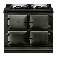 "AGA Total Control 39"" Electric Pewter with Stainless Steel trim"