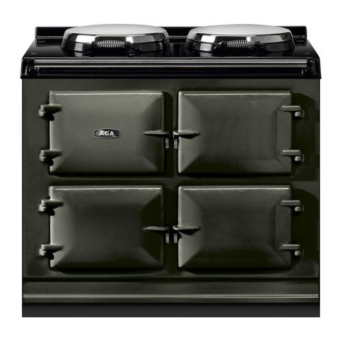"""AGA Total Control 39"""" Electric Pewter with Stainless Steel trim"""