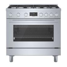 800 Series Dual Fuel Freestanding Range Stainless steel HDS8655C