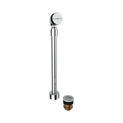 Freestanding Bathtub Drain Kit For Sub-Floor Installation Box - Polished Chrome