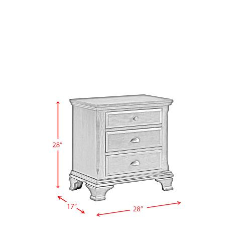Canton Cherry Nightstand