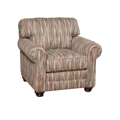 Bentley Fabric Chair, Bentley Fabric Ottoman