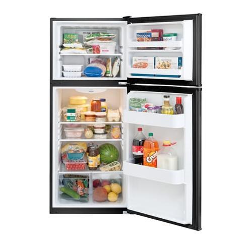 Frigidaire - Frigidaire 9.9 Cu. Ft. Top Freezer Apartment-Size Refrigerator