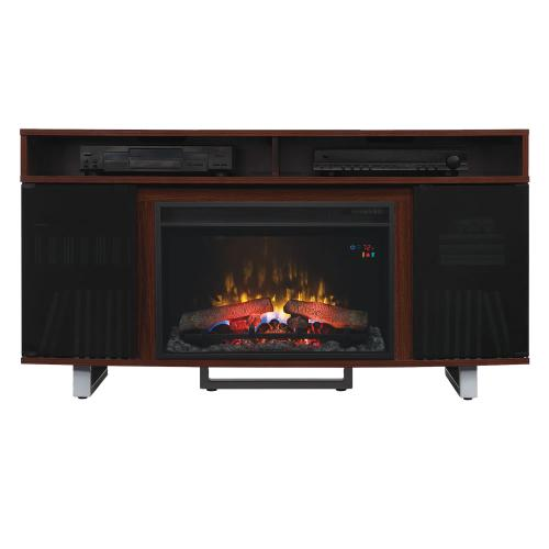 Enterprise TV Stand with Electric Fireplace - CURRENTLY SOLD OUT