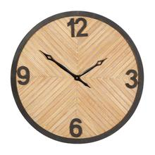 "WD WALL CLOCK 25""W, 25""H"