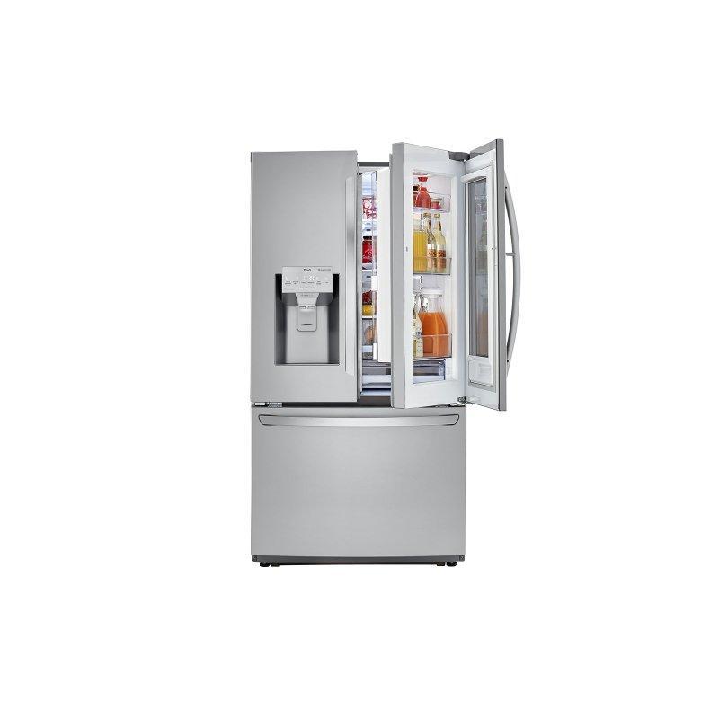 22 cu. ft. Smart wi-fi Enabled InstaView™ Door-in-Door® Counter-Depth Refrigerator