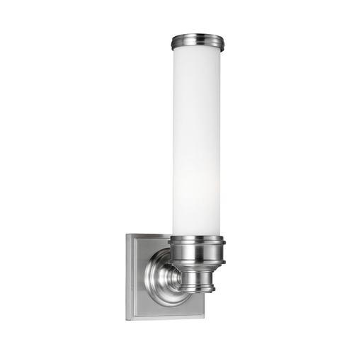 Payne 1 - Light Sconce Brushed Steel