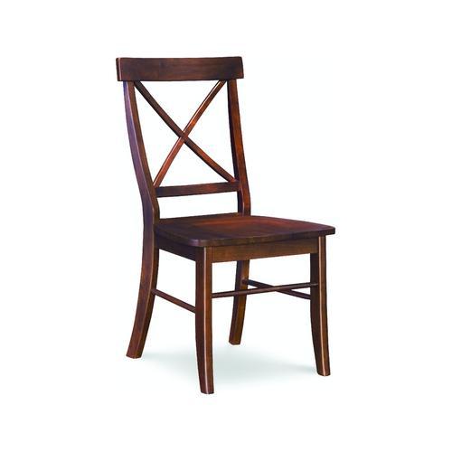X-Back Chair in Espresso