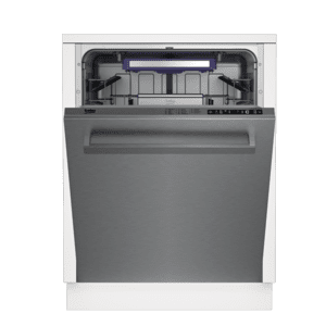 BekoTall Tub Stainless Dishwasher, 14 place settings, 40 dBA, Top Control