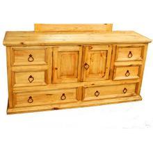 Mansion 2 Door 6 Drawer Dresser
