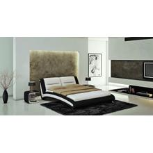 Modrest J211B - Contemporary Eco-Leather Bed