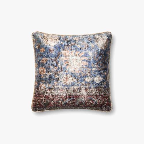 P0585 Blue / Multi Pillow