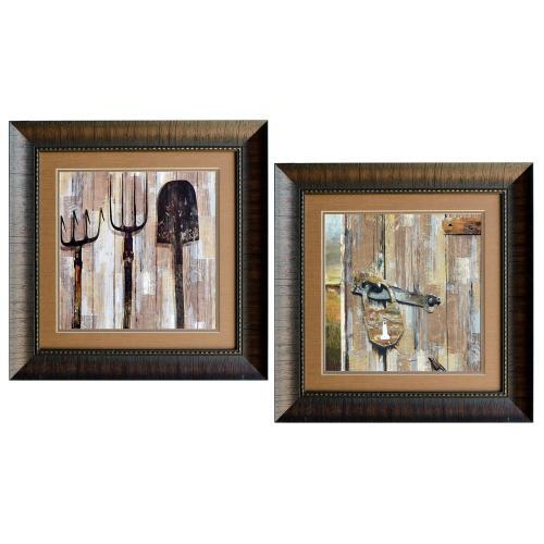 Crestview Collections - BARN DOOR & BARN WALL