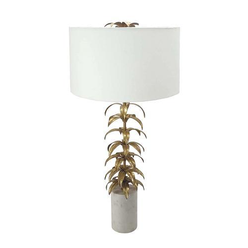 A & B Home - Leaf Table Lamp