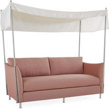 U141-11 Bimini Outdoor Apartment Sofa With Canopy