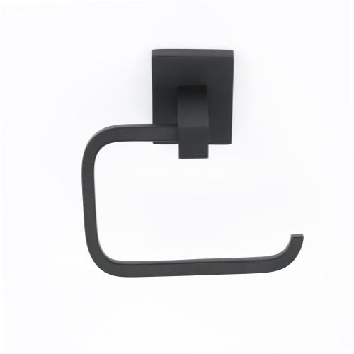 Contemporary II Single Post Tissue Holder A8466 - Matte Black