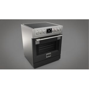 """30"""" Induction Pro Range - Glossy Black Product Image"""