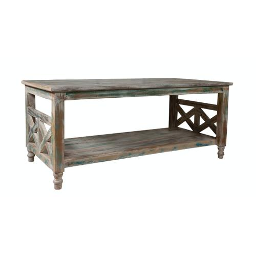 Capris Furniture - Coffee Table, Available in Recycled Finish.