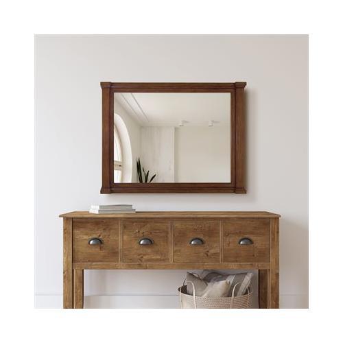Product Image - 32 in. W Brown Vanity Mirror