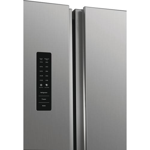 Frigidaire 18.8 Cu. Ft. 36'' Counter-Depth Side-by-Side Refrigerator