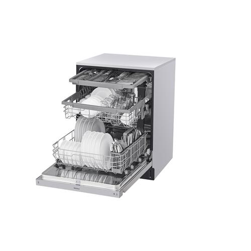 Front Control Dishwasher with QuadWash™