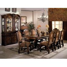 7Pc Dining Room Set by CrownMark 2400 Table, 2 Arm Chairs & 4 Side Chairs