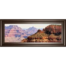 """Grand Canyon Panorama V"" By Sylvia Coomes Framed Print Wall Art"