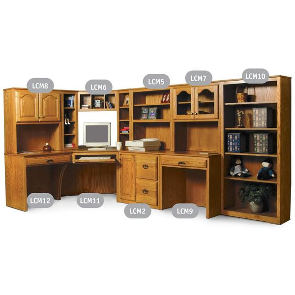 See Details - Classic Office Open Bookcase #10