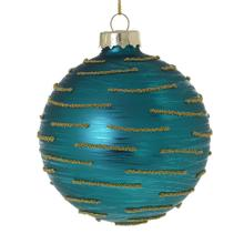 """3"""" Turquoise Whimzy Ornament"""