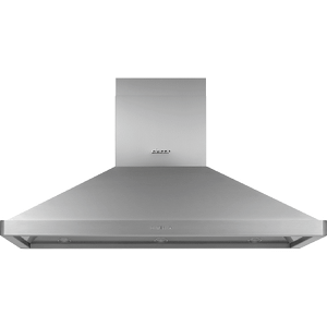"Dacor54"" Chimney Island Hood, Silver Stainless Steel"