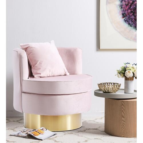 "Kendra Velvet Accent Chair - 29"" W x 29"" D x 29"" H"