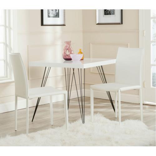 Karna 19''h Dining Chair - White