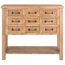 See Details - Mendie Drawer Chest - Natural Oak