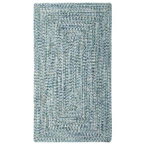 "Sea Glass Ocean Blue - Oval - 20"" x 30"""