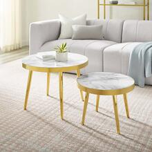 Solana Nesting Tables in Gold