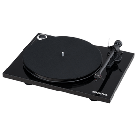 Black- Pro-Ject Essential III Phono