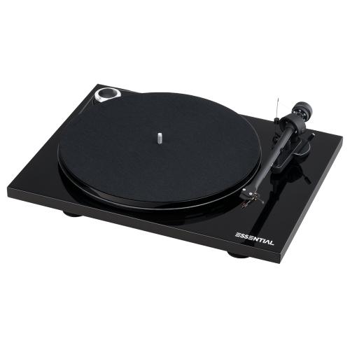 Black- Pro-Ject Essential III Phono