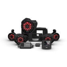 View Product - PMX-2, 800 Watt, Front Color Optix™ Speaker, Subwoofer & Rear Speaker Kit for Select Polaris® RZR® Models (Gen-3)