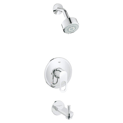 Product Image - Bauloop Pressure Balance Valve Tub/shower Combo