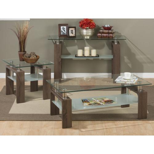 Jofran - Compass Rectangle Cocktail Table
