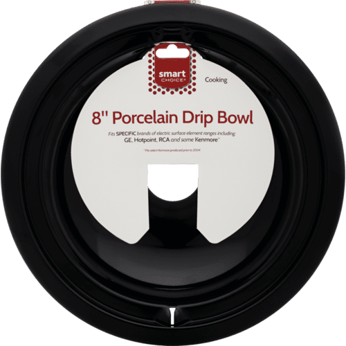 Product Image - Smart Choice 8'' Black Porcelain Drip Bowl, Fits Specific