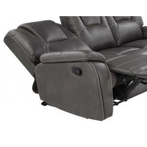 Katrine Manual Motion Chair, Charcoal